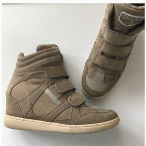 SKCH+3 by Sketchers wedge sneakers